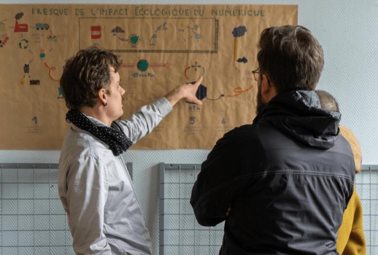 Avec un site web éco-conçu, Mathieu t'aide à réduire ton impact numérique